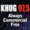 KHUG 97.5 FM